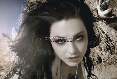 """Amy Lee """"Evanescence"""" Genuine Autographed 12x8inch photograph"""