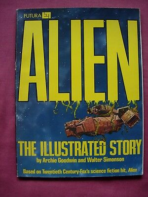 ALIEN The Illustrated Story 1979 UK Edition Futura Heavy Metal FN/VFN