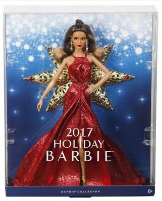Barbie Collector 2017 Holiday Doll Latina
