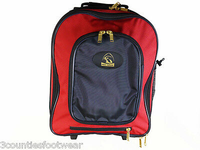 Prohawk Bowls Trolley Case Pull Along - Strong Durable Free P&p Red
