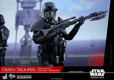 Star Wars~Rogue One~Death Trooper Specialist~Dlx~Sixth Scale Figure~Hot Toys~Mib