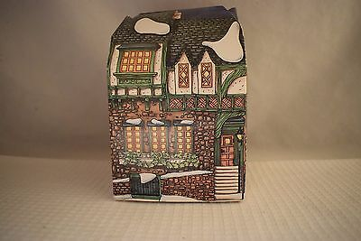 Dept 56 PIED BULL INN Ornament 1993, with box Dickens Collectors Edition  (B517)