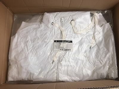 CLEARANCE Mens B&C Attitude Jacket. White XXXL x 10. K.