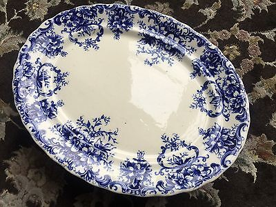 """Large Rare Victorian Keeling & Co Ironstone Charger Late Mayers Pattern """"Kendal"""""""