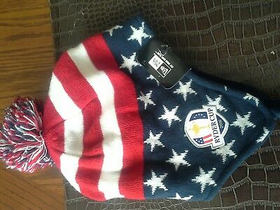 Ryder Cup 2016 American Flag knit hat