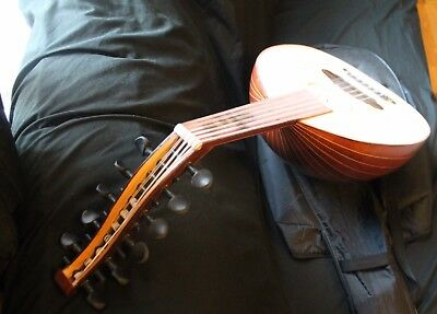 Turkish Arabic Folk folklore OUD Musical Instrument- HAND MADE 11 STRINGS
