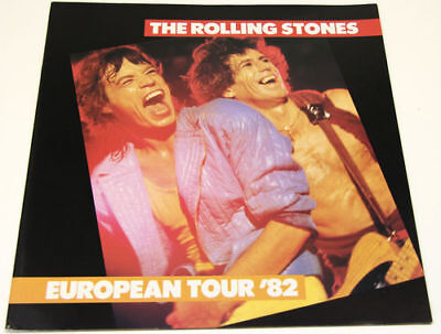 Rolling Stones - European Tour '82.  EXCELLENT SHAPE!!!  In Sleeve