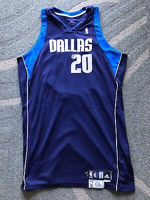 2007-08 Jamaal Magloire Game Used Dallas Mavericks Road Jersey