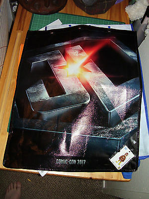 SDCC 2017 COMIC CON JUSTICE LEAGUE SWAG BAG WITH FLASH PIN New Unused Backpack 5