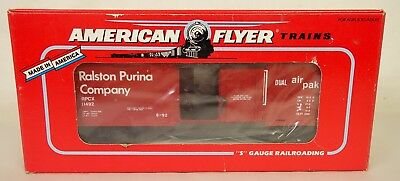 American Flyer #6-48477 Tca 1992 Convention Ralston Purina Box Car-New In Box!