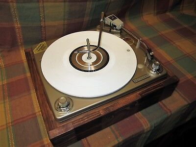 Zenith VM Turntable Record Player Changer, serviced and ready to use