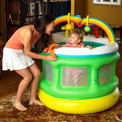 New Bestway Inflatable Baby Gym Playpen Bouncer Trampoline Jumping Castle #52221