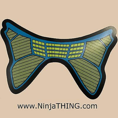 Sound Activated EL Mask, Ninja THING Mask, Light Up Mask, Blue EQ  SEE VIDEO