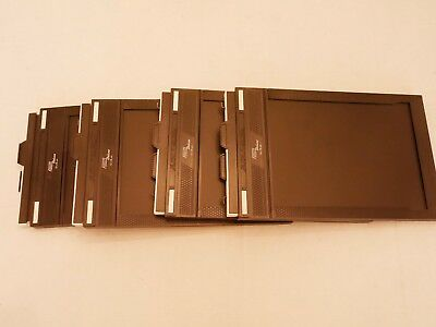 4 Fidelity Deluxe 13x18 Film Holders