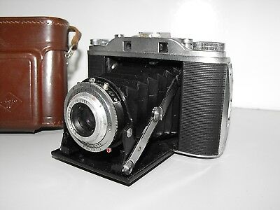 Vintage Agfa Isolette Medium Format Folding Film Camera Very Good Condition.