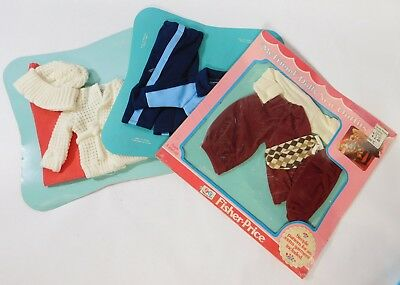 Fisher Price MY FRIEND DOLLS Outfits 1979 Lot of 3 New on Cards!