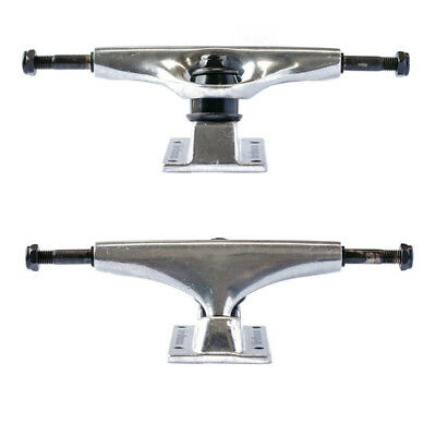 "Birdhouse Skateboard Trucks 5.25"" Level 1 Polished 8"" Axles Set of 2 FREE POST"