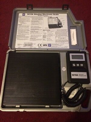 TIF 9010A Slimline Electronic Charging Refrigerant Scale