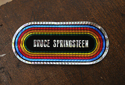 BRUCE SPRINGSTEEN Prism Sticker Rock Music....Two Stickers