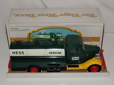 Vintage First Hess Truck With Original Box
