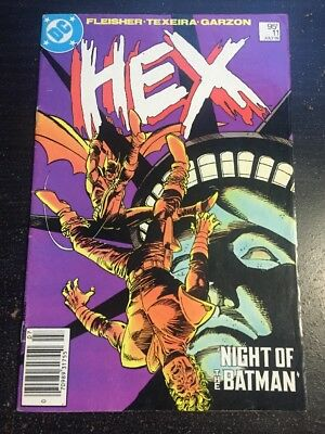 Hex#11 Awesome Condition 6.0(1986) Batman App!!
