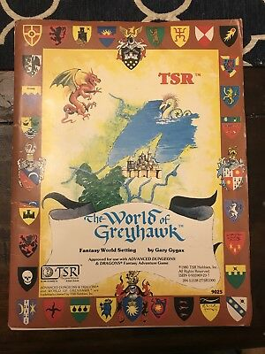 World of Greyhawk Advanced Dungeons and Dragons AD&D OUTSTANDING!
