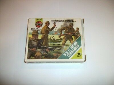 Airfix HO/OO 1/72 Scale WWII British Commandos Figures Type 2 Complete Boxed Set