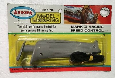 1969 Aurora T-Jet Slot Car  Mark Ii Racing Speed Control #1246-Ex+-N/ On Card #2