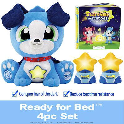Starshine Watchdogs, Ready-for-Bed 4pc Set, Makes Bedtime Easy! Blue