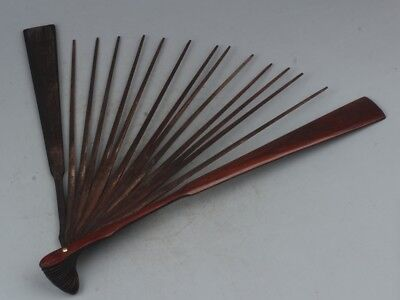 China Exquisite Hand-carved wooden Fan rib