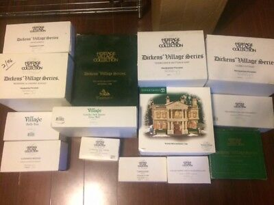Department 56 Dickens Village (Lot of 14!)