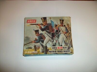 Airfix HO/OO 1/72 Scale Vintage Waterloo French Infantry Figures Boxed Set