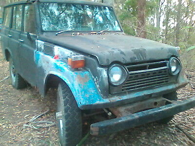 TOYOTA LANDCRUISER VINTAGE1976 fj55 2F 81000kms from new -one family on farm