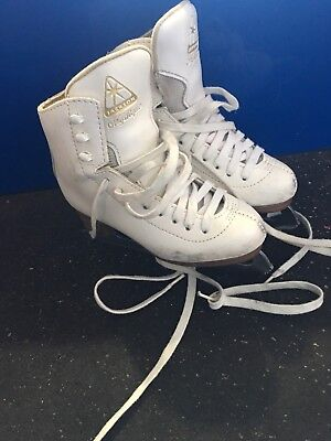 Girls  Size 11 Figure Skating Skates Jackson mystique