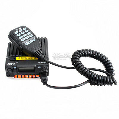 KT-8900R 200CH 25W UHF VHF Dual Display Mobile 2-Way Radio Transceiver+BT-89 Mic