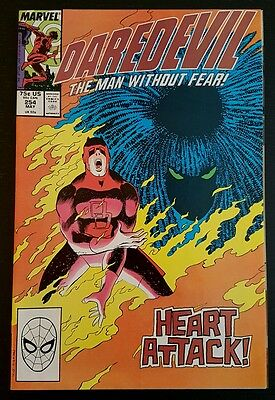 DAREDEVIL # 254 (1988 MARVEL) *ORIGIN & 1st APP. OF TYPHOID MARY* NM-/NM