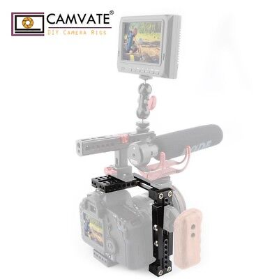CAMVATE Dual-use Adjustable Camera cage Stabilizer for Canon 80D Nikon Sony