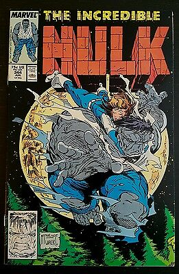 Incredible Hulk #344 (1988 Marvel) *a.s.m. #300 Cover Swipe Vf++/nm-