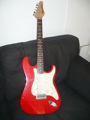Electric Guitar Exc Condition Beginners Sonik