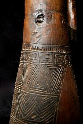 Old & Used Highlands Kundu Drum - Papua New Guinea 1960's