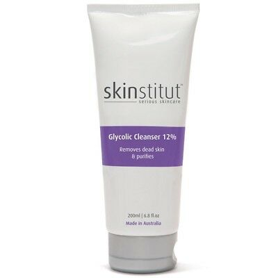 Skinstitut Glycolic Cleanser 12% 200ml Acne treatment oily skin