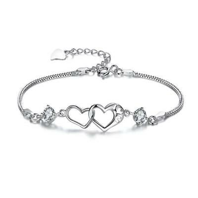 2017 Wonderful Gift For Contracted Heart-Shaped Bracelet Fashion Jewelry