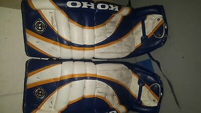 koho hockey pads goalie