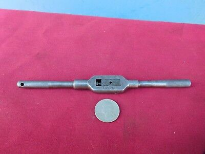 GREENFIELD GTDT No. 0 Tap Handle Wrench 7'' Long  Machinist Tool Made In USA