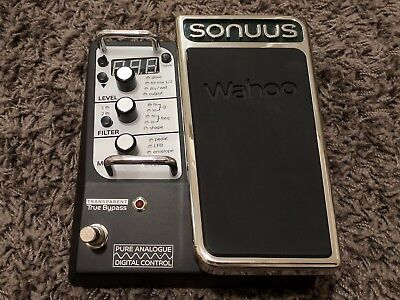 Sonuus Wahoo Wah / Filter Analogue Multi Effects Pedal (as new condition)