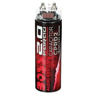 Boss Audio CPRD2 2 Farad Capacitor with AUST LOCAL WARRANTY