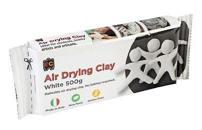 500g Air Drying Clay - Modelling clay. Pottery, Earthenwear MADE IN ITALY