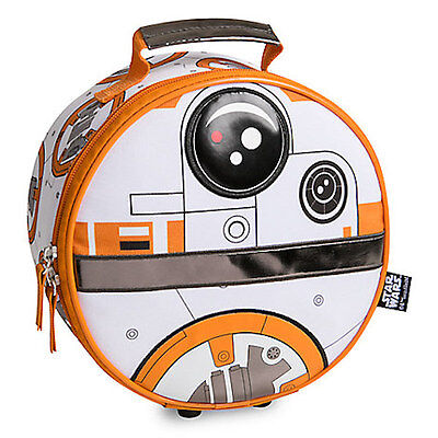 NWT Disney Store Star Wars BB-8 Lunch Tote Box Bag School