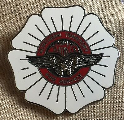 Northern Territory Fire Service Hat Badge