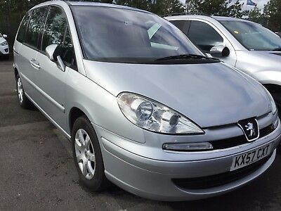 57 Peugeot 807 2.0 Hdi Se 7 Seats Alloys, Climate, E/doors, **only 1 F/owner**